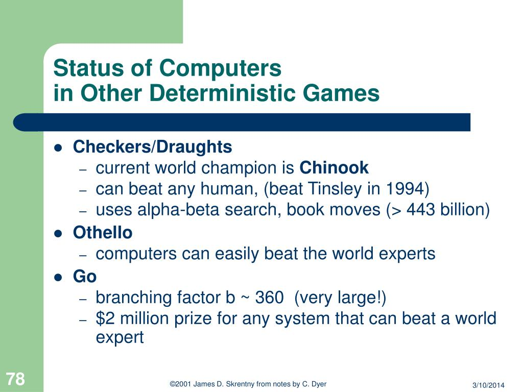 Status of Computers