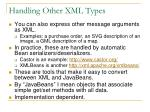 handling other xml types