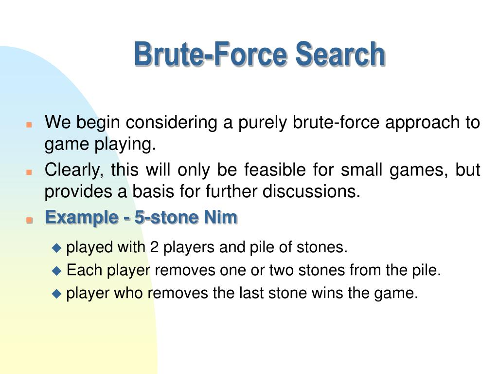 Brute-Force Search