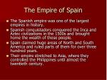 the empire of spain16