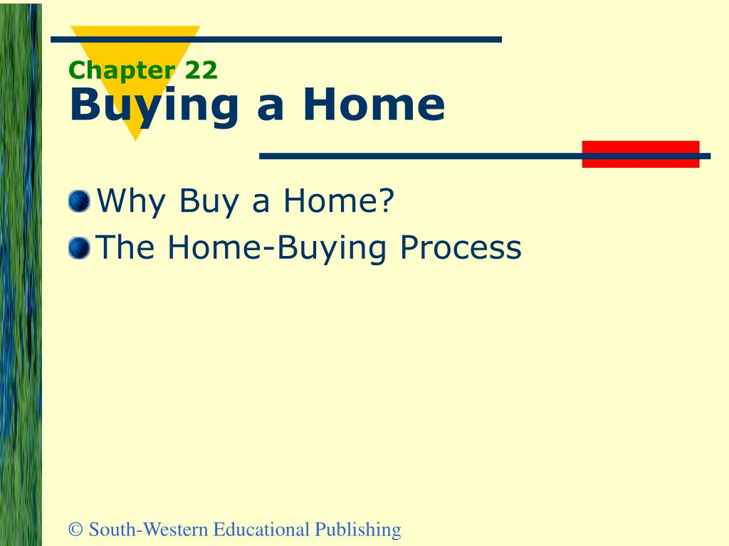 chapter 22 buying a home l.