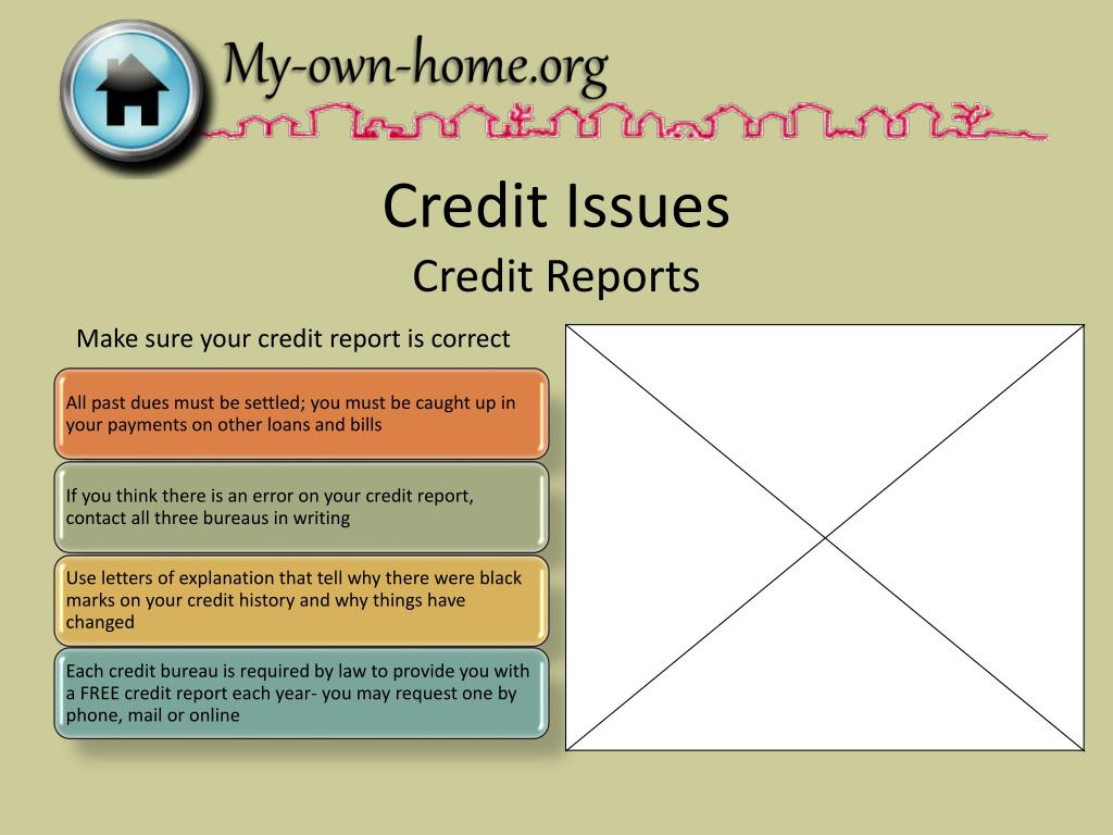 Credit Issues