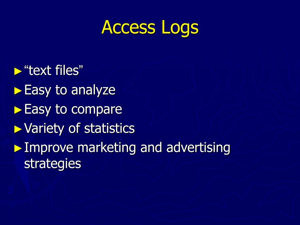Access Logs