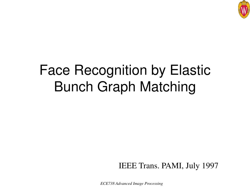 face recognition by elastic bunch graph matching l.