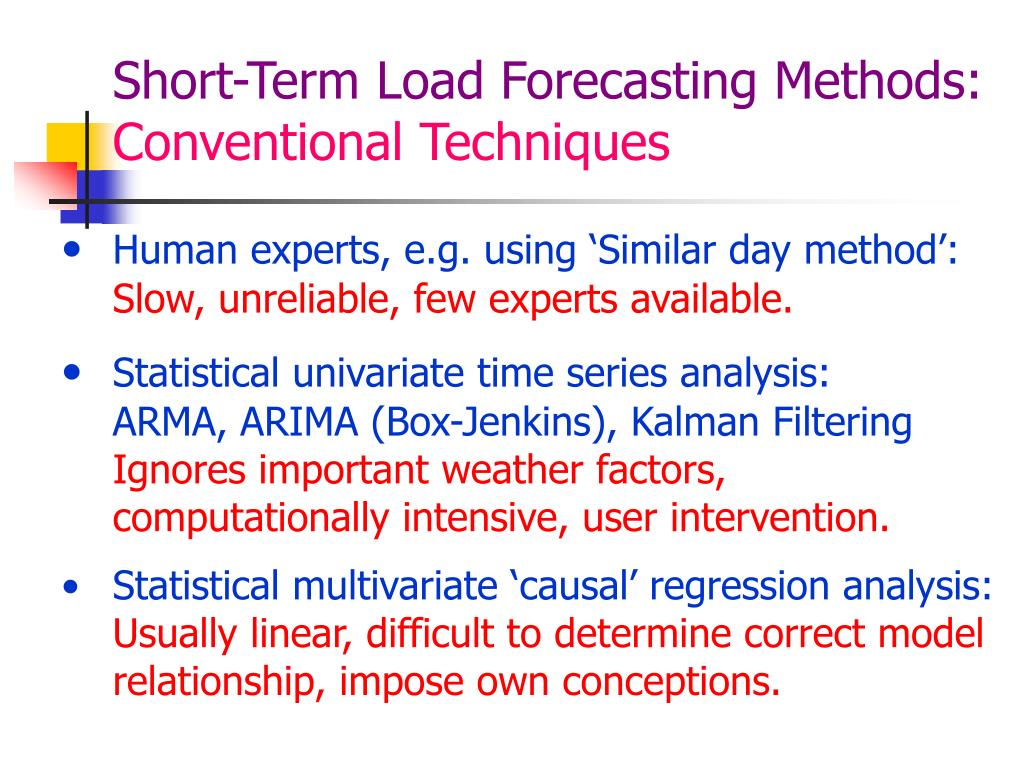 a forecasting method essay