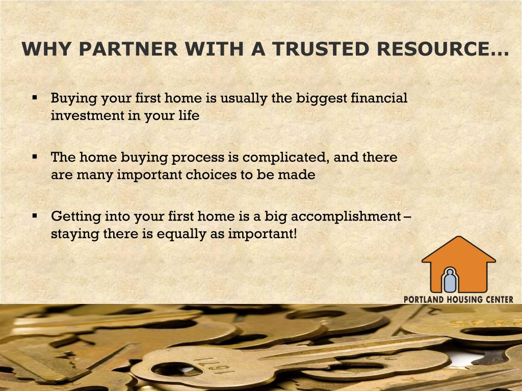 WHY PARTNER WITH A TRUSTED RESOURCE…