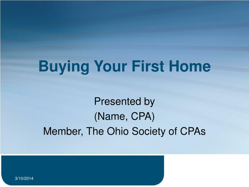 buying your first home l.