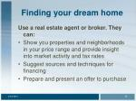 finding your dream home24