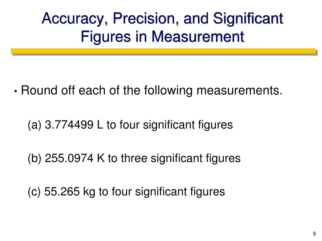 kilogram and significant figures Calculations with significant figures - in multiplication or division, the 1000 grams = 1 kilogram it is important to know these commonly used prefixes 3.