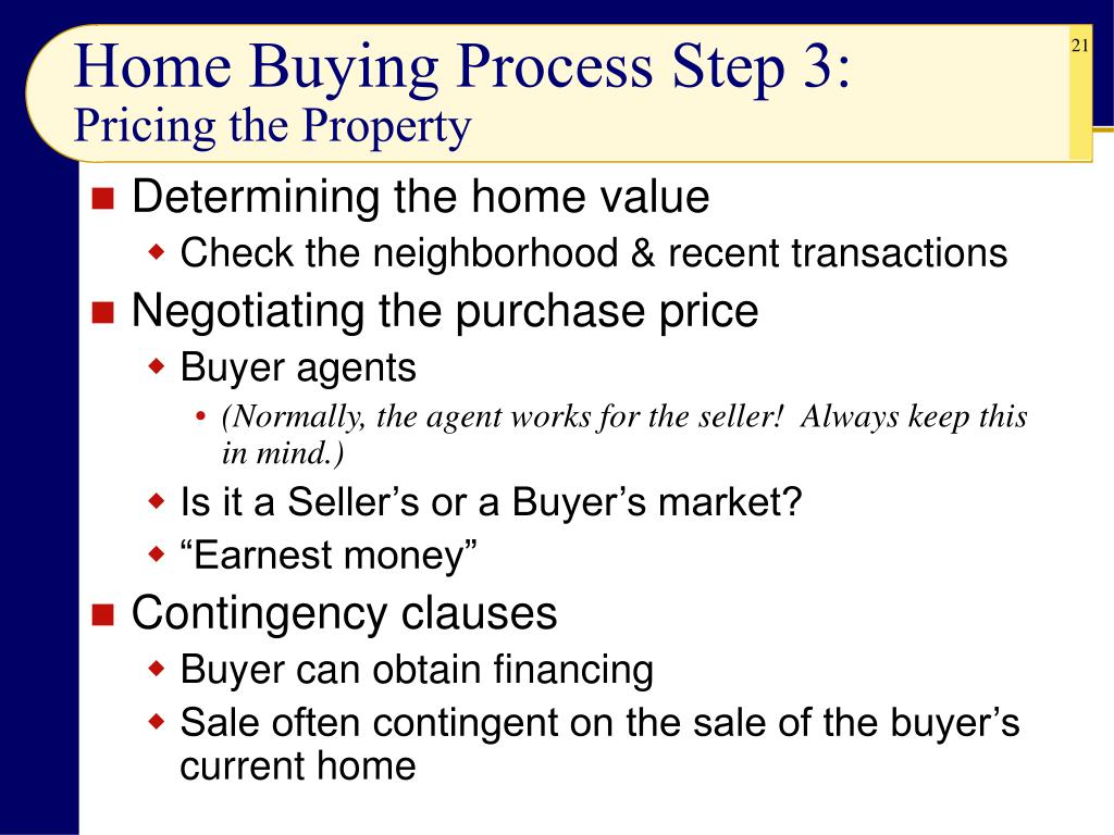 Home Buying Process Step 3: