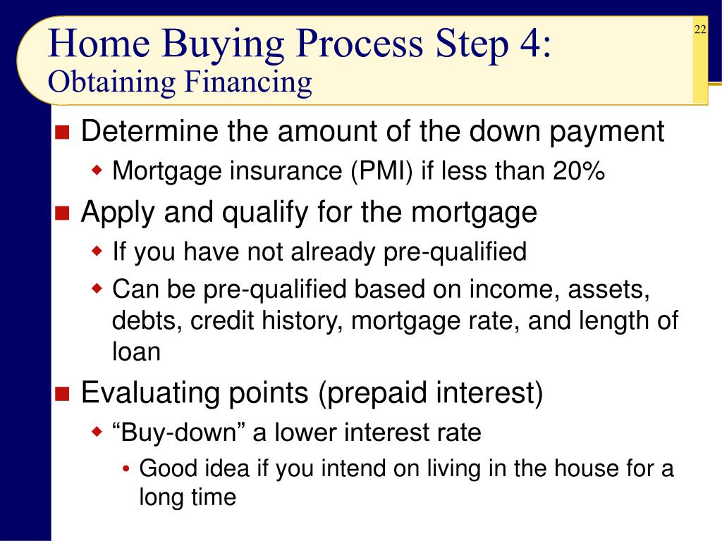 Home Buying Process Step 4:
