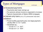 types of mortgages25