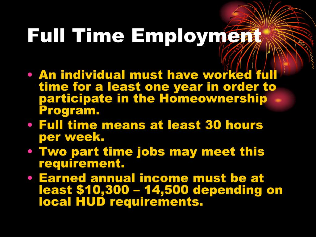 Full Time Employment