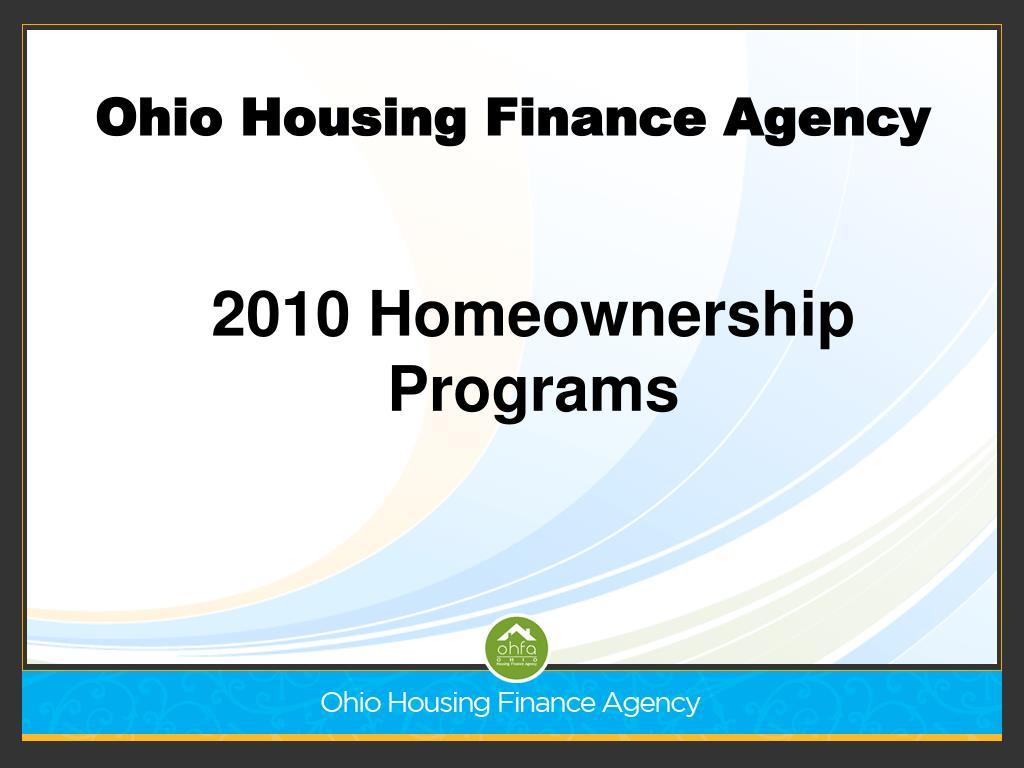 2010 homeownership programs l.