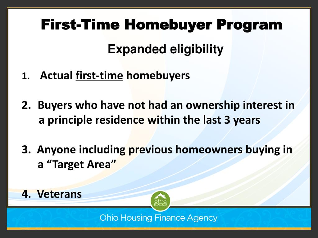 First-Time Homebuyer Program