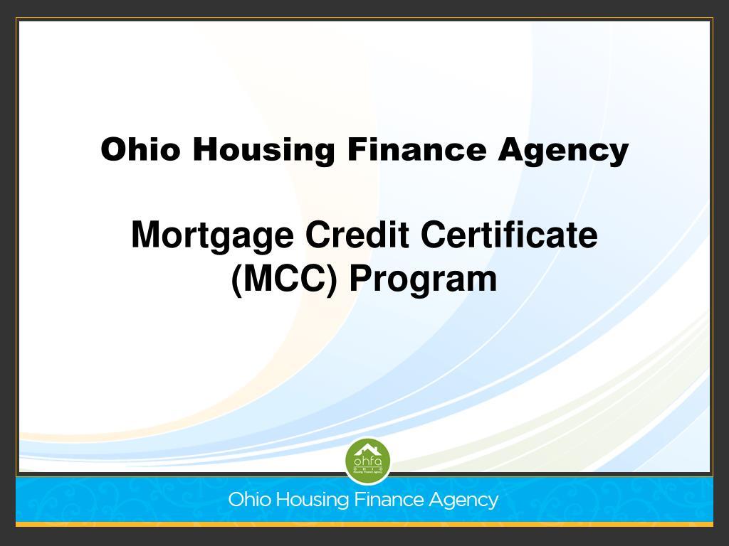Ohio Housing Finance Agency