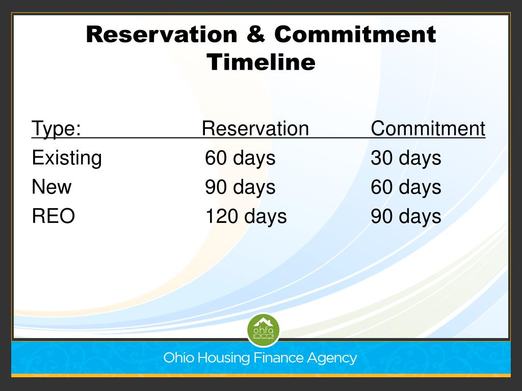 Reservation & Commitment