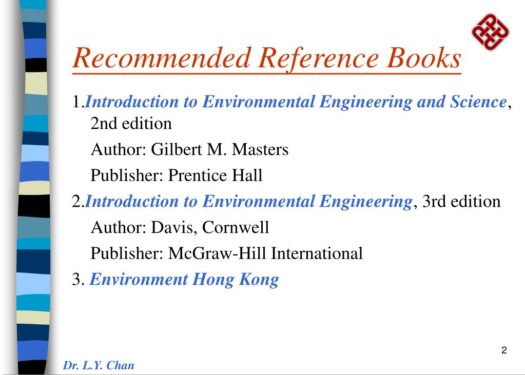 Recommended Reference Books