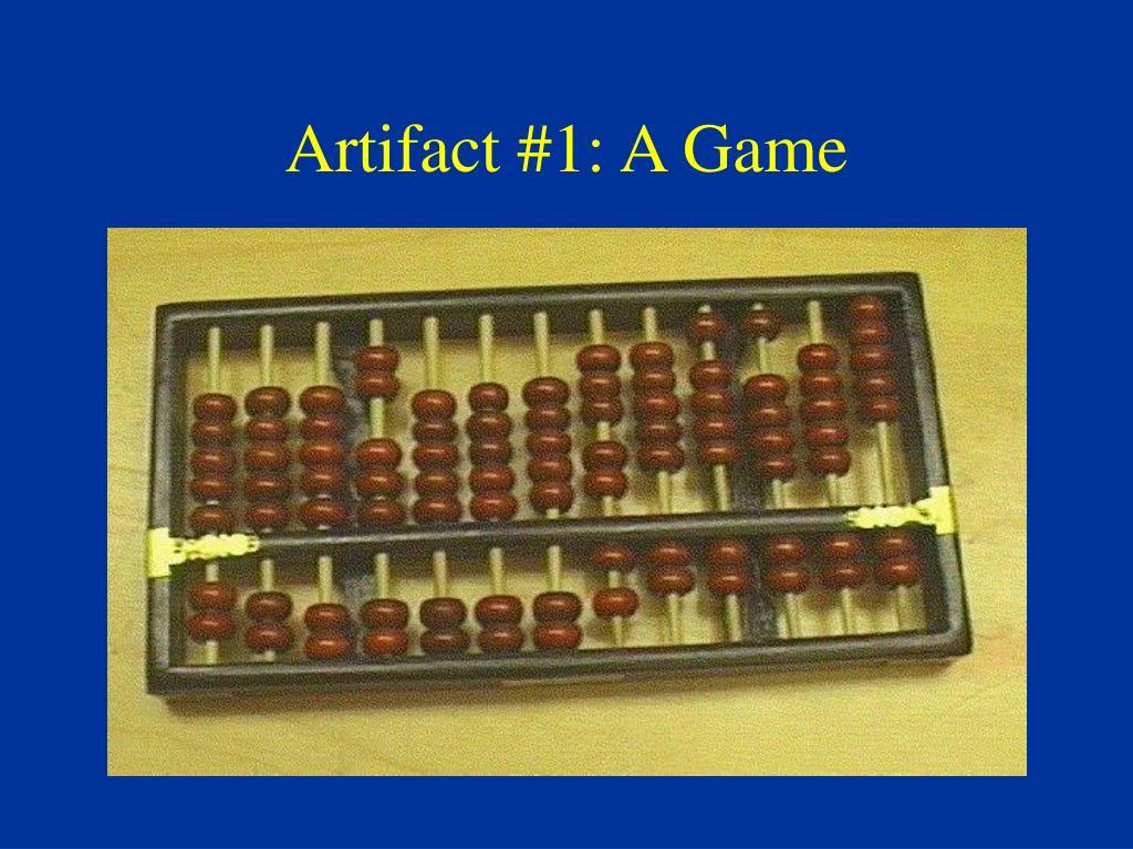 Artifact #1: A Game