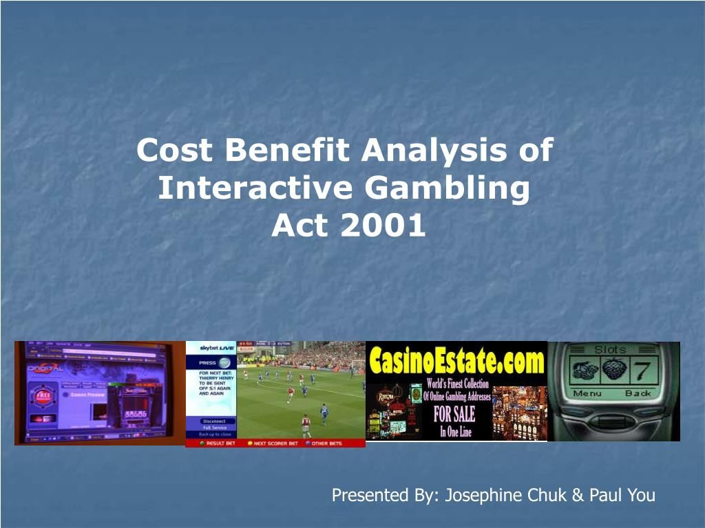 Cost Benefit Analysis of