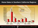 home sales in southern california regions