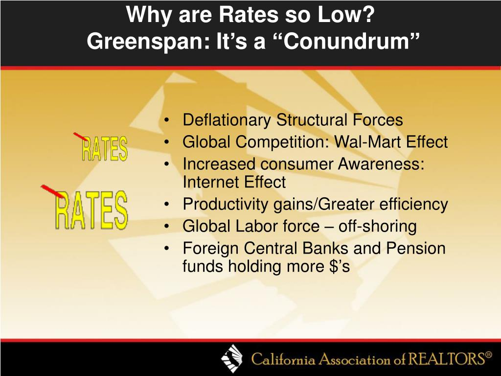 Why are Rates so Low?
