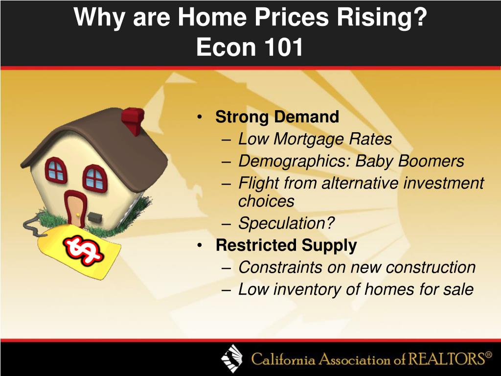 Why are Home Prices Rising?