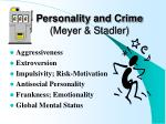 personality and crime meyer stadler