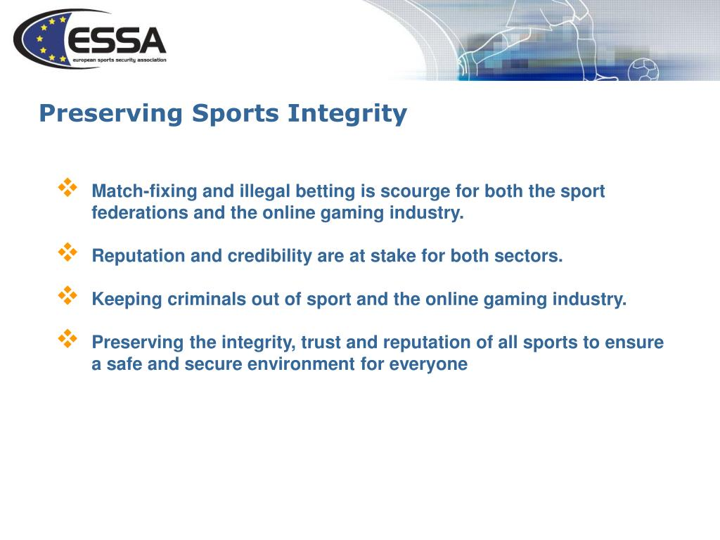 Preserving Sports Integrity