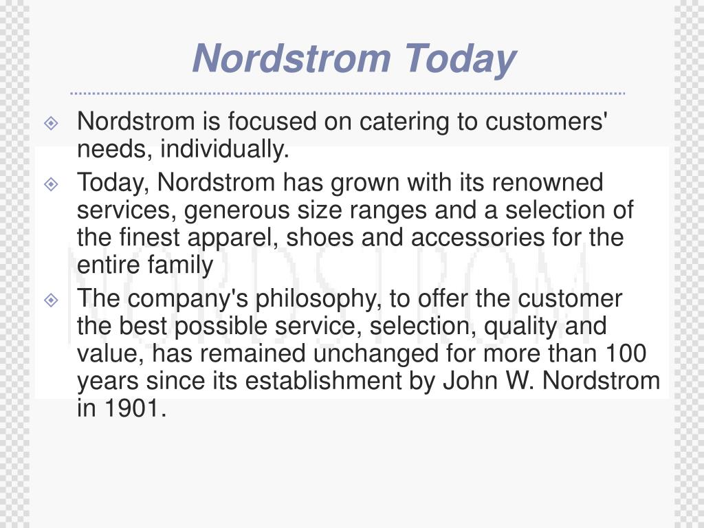 Nordstrom Today