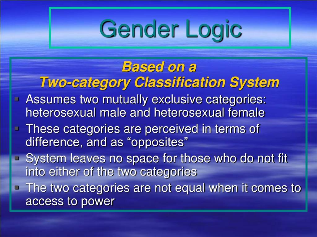 Gender Logic