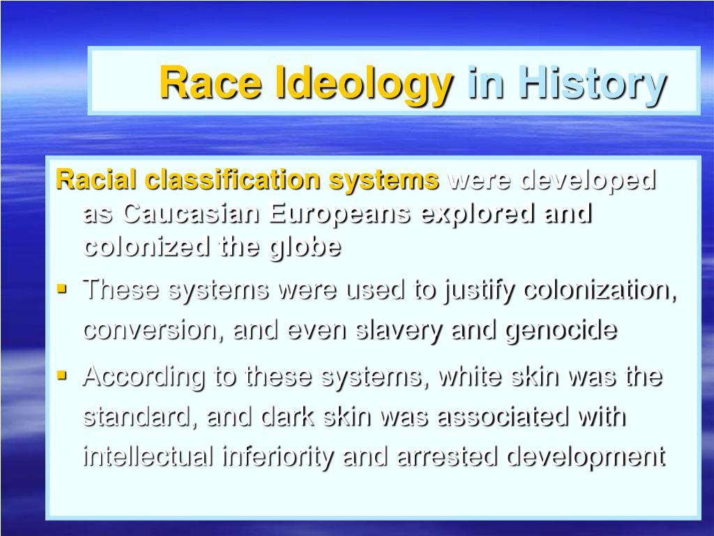 Race Ideology
