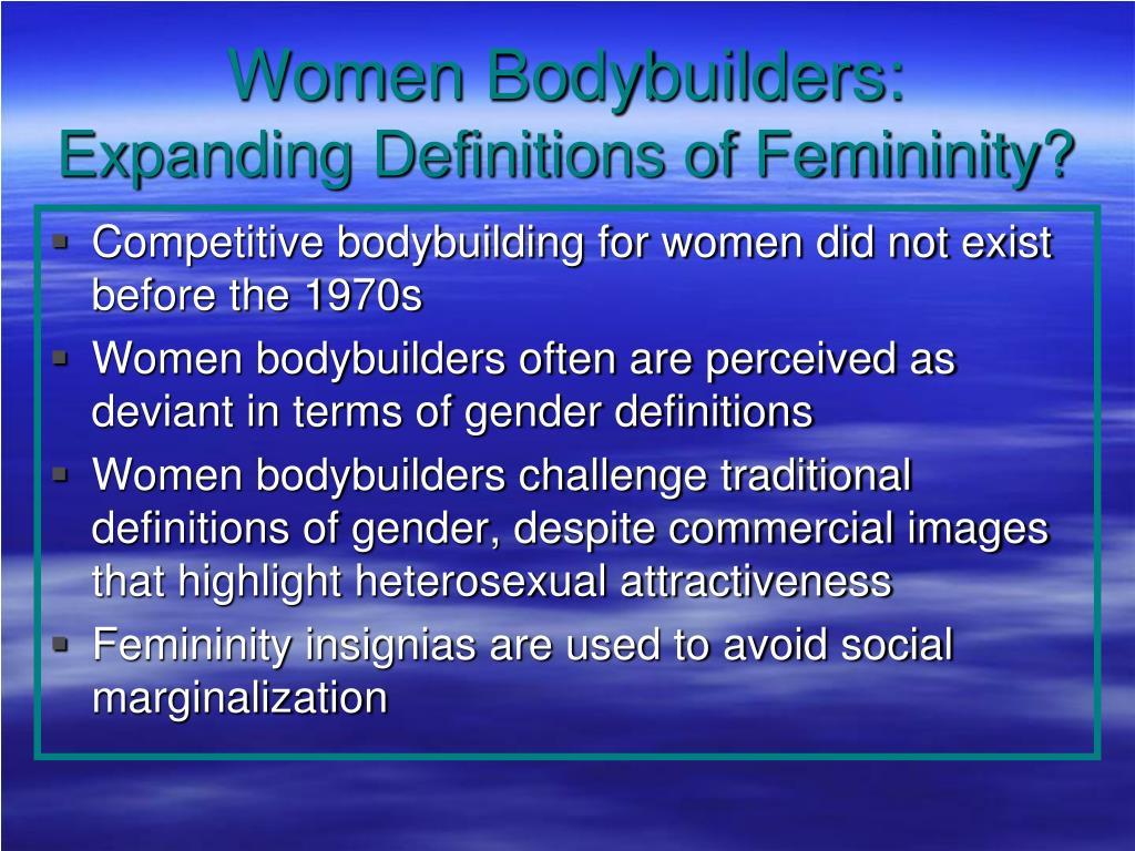 Women Bodybuilders: