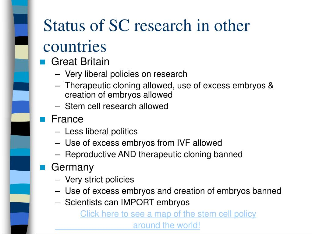 Status of SC research in other countries