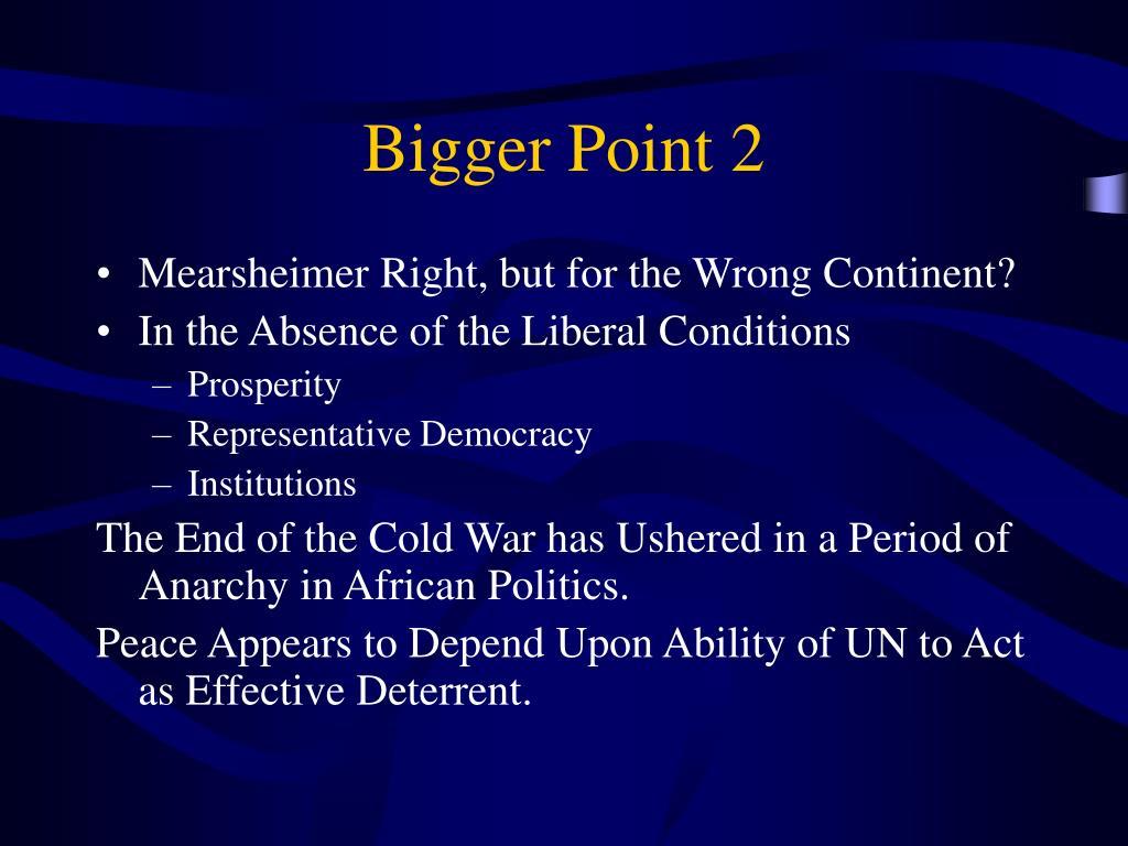 Bigger Point 2