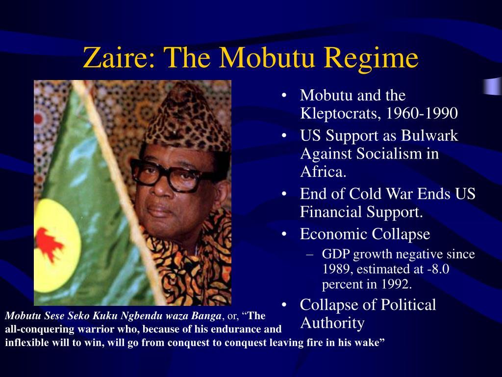 Zaire: The Mobutu Regime