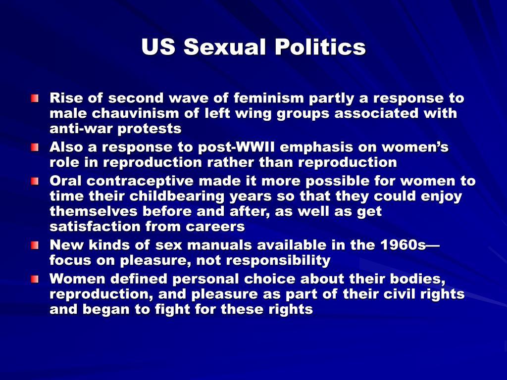 US Sexual Politics