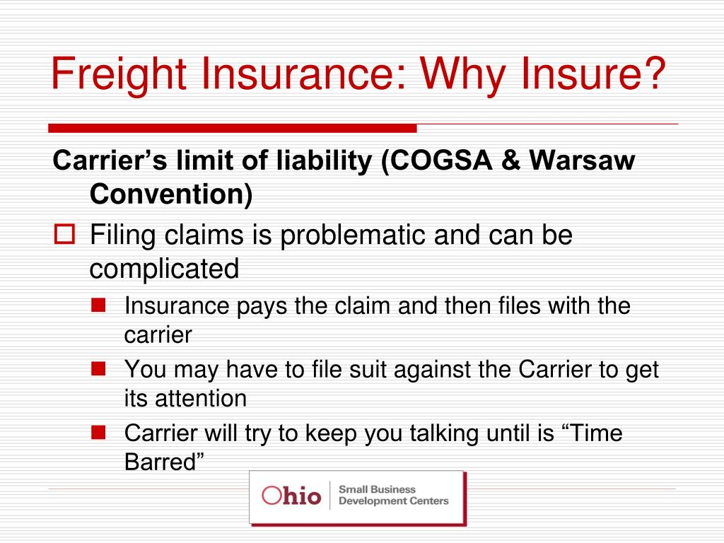 Freight Insurance: Why Insure?