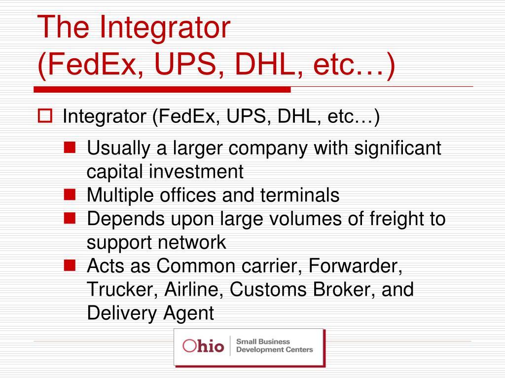 The Integrator