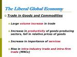 the liberal global economy10