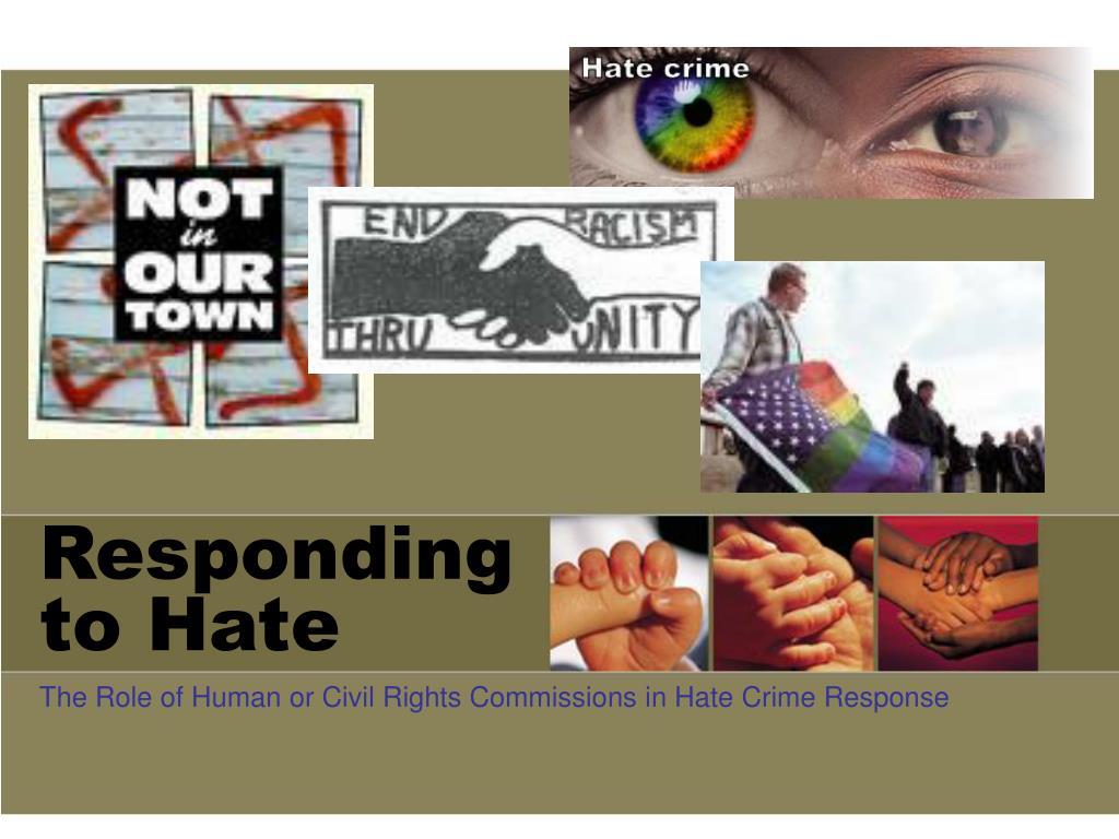 Responding to Hate
