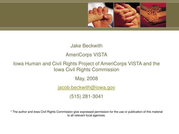 Jake Beckwith