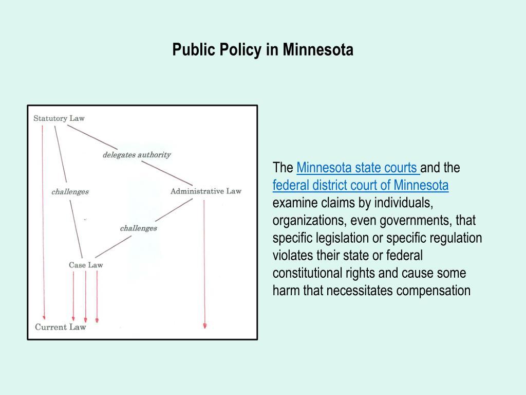 Public Policy in Minnesota