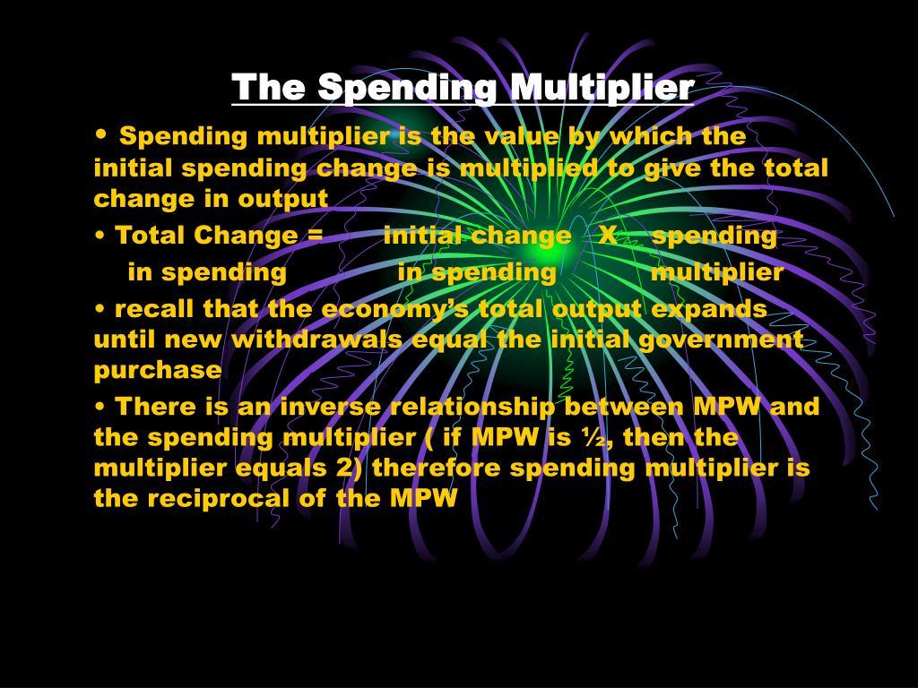The Spending Multiplier