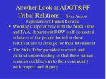 another look at adot pf tribal relations sitka airport repatriation of human remains33