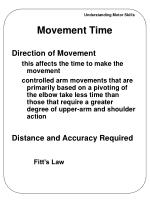 movement time