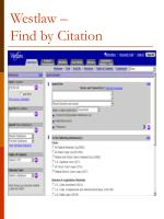westlaw find by citation