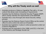 why will the treaty work so well