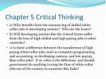 chapter 5 critical thinking22