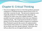 chapter 6 critical thinking29